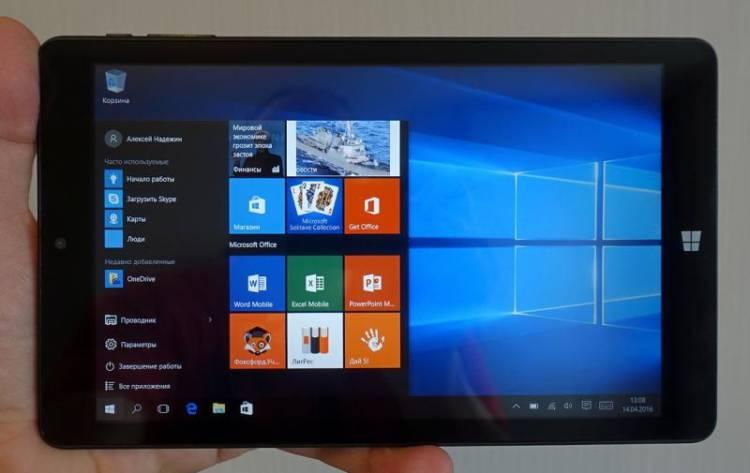 Как сделать на планшете windows 10 90