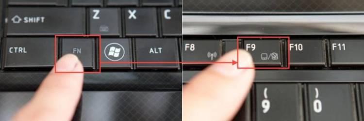 Кнопка отключения