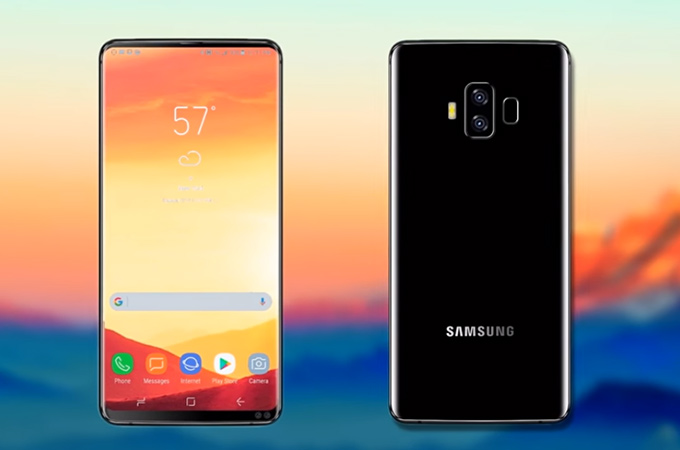 Samsung Galaxy A10 получит сканер отпечатков пальцев в дисплее