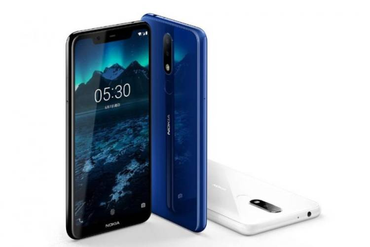 Nokia 5.1 Plus начали обновлять до Android 9 Pie