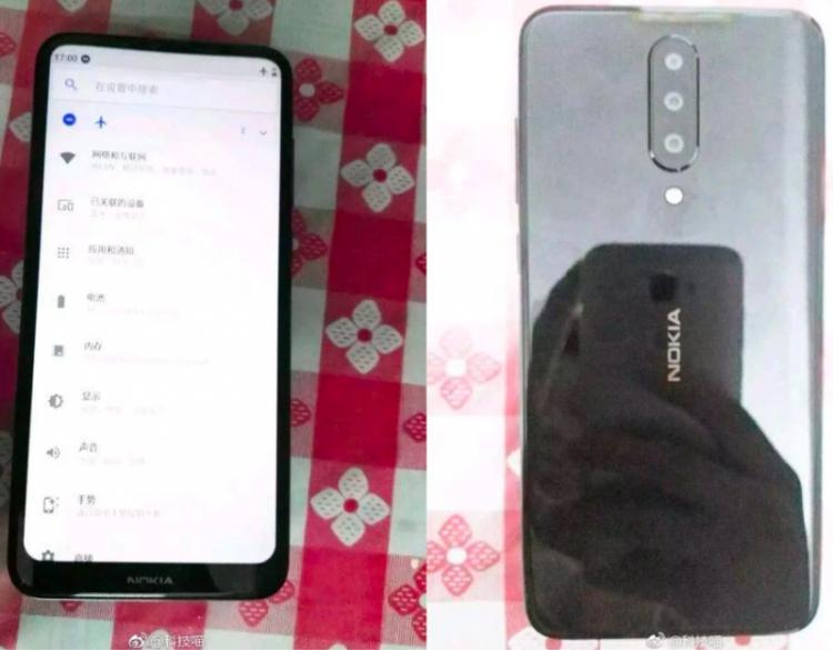 Опубликованы фото таинственного смартфона Nokia с тройной камерой и новым дизайном