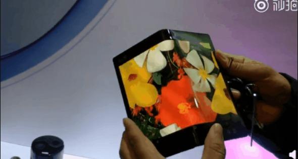 BOE показали свой первый прототип складного дисплея [Видео]