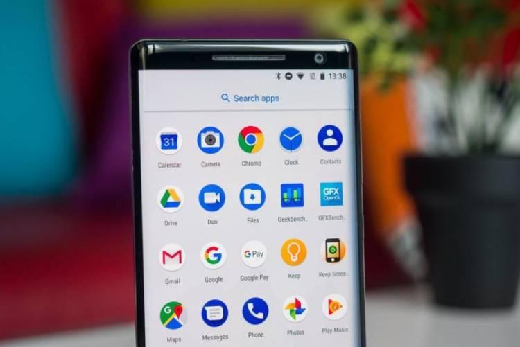 Nokia 8 Sirocco наконец-то получает Android 9 Pie