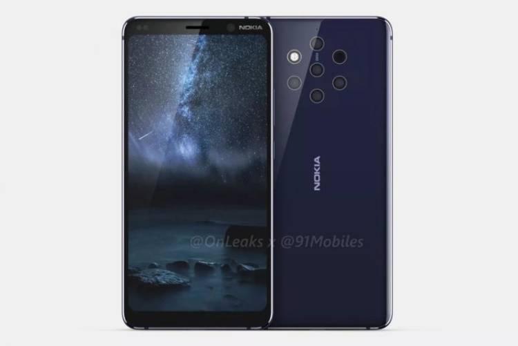 Nokia 9 PureView анонсируют уже в этом месяце