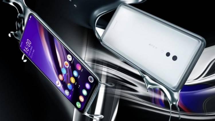 Анонсирован Vivo Apex 2019 - первый в мире 5G-смартфон с 12 Гб оперативной памяти