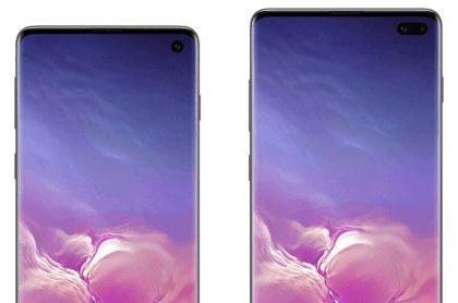 Опубликованы качественные рендеры Samsung Galaxy S10 и S10E