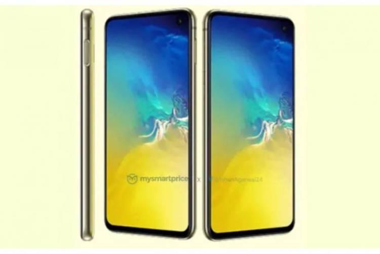 Samsung Galaxy S10E будет доступен в ярко-желтой расцветке