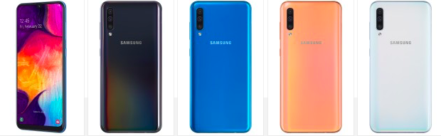 Samsung анонсировала Galaxy A50 и Galaxy A30