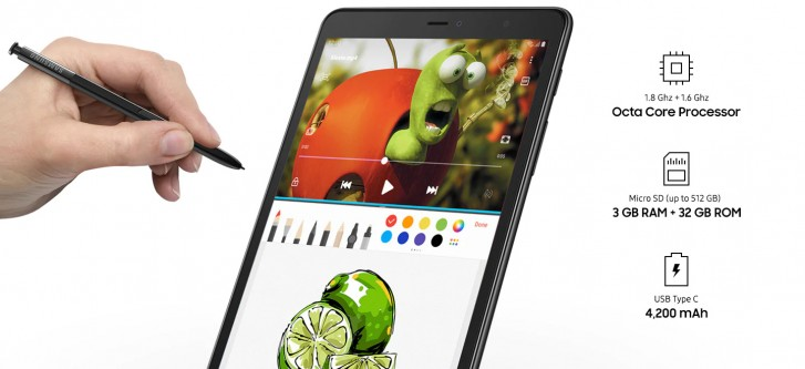 Samsung незаметно анонсировала Galaxy Tab A 8.0 (2019)