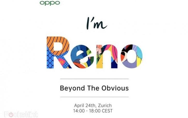 5G-версия OPPO Reno выйдет в Европе 24 апреля