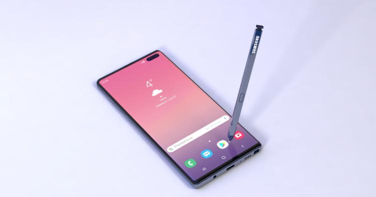 Samsung Galaxy Note 10 выйдет в четырех вариантах