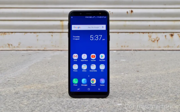 Samsung Galaxy J6 получил Android Pie