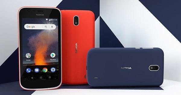 Nokia 1 получает обновление Android Pie Go