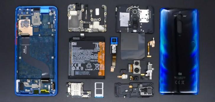 Видео: Xiaomi Mi 9T разобрали на части