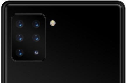 Sony работает над смартфоном с 6-модульной камерой