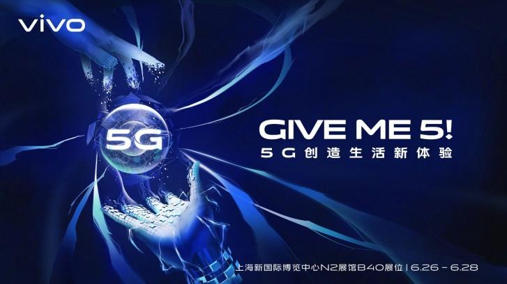 vivo анонсирует свой первый 5G-смартфон на следующей неделе