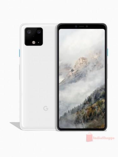 Опубликованы рендеры Google Pixel 4 в новом мятном цвете