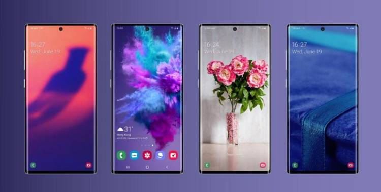 "Samsung Galaxy Note 10 получит технологию ""звук в дисплее"""