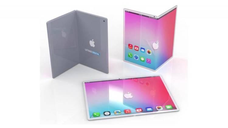 Apple работает над складным iPad