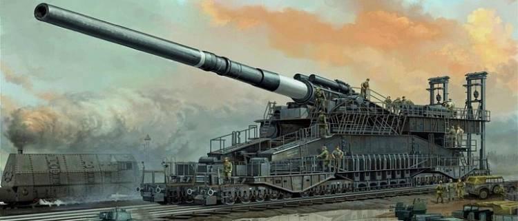 biggest artillery
