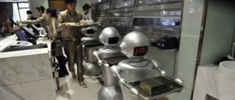 robots on work