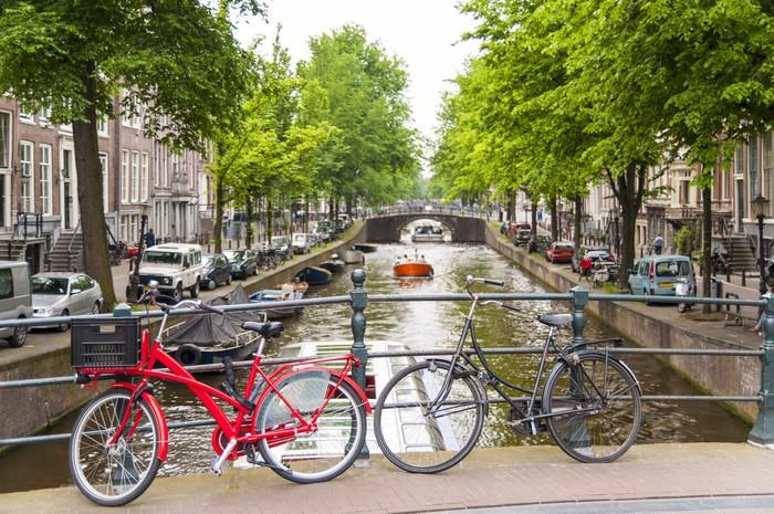 Bicyles in Amsterdam