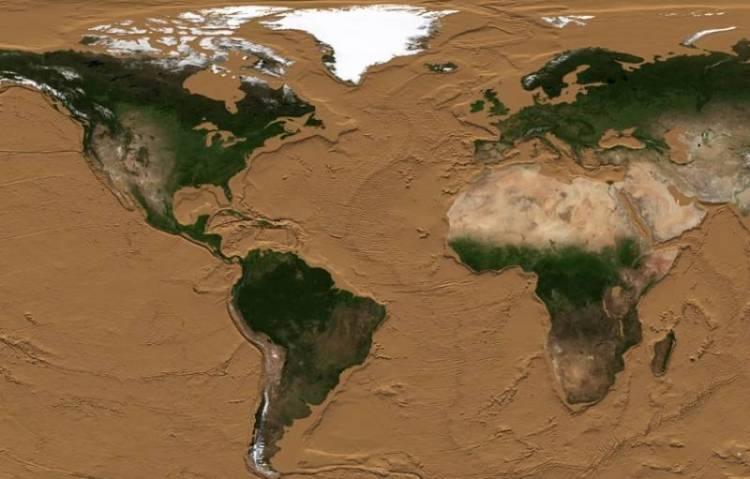 Earth drying