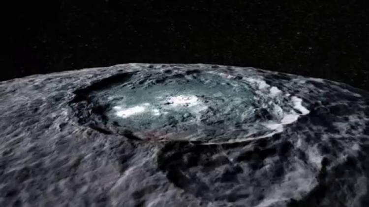 Искусственный интеллект нашел «здание пришельцев» на Церере