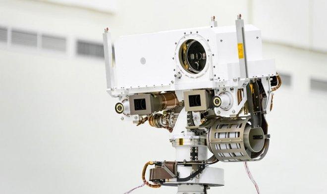 Марсианский ровер получит мощный лазер, способный испарять камни