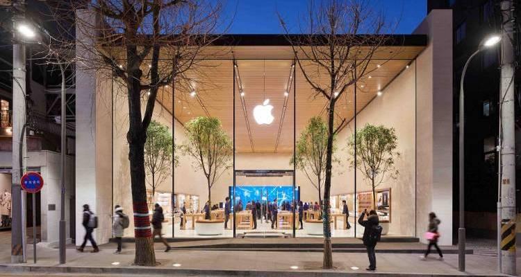 apple shops china