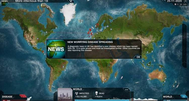 plague inc pandemia