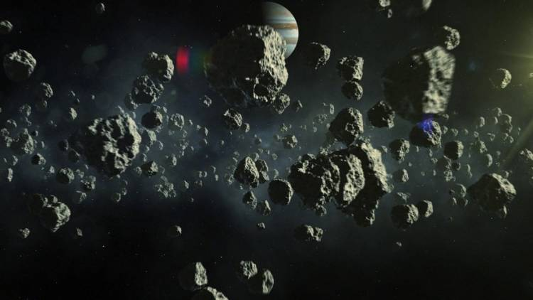asteroid fall