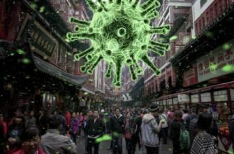 coronavirus in air