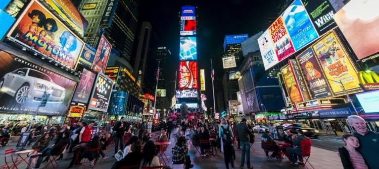 people at Manhattan