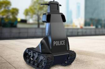 ukrainian police robot