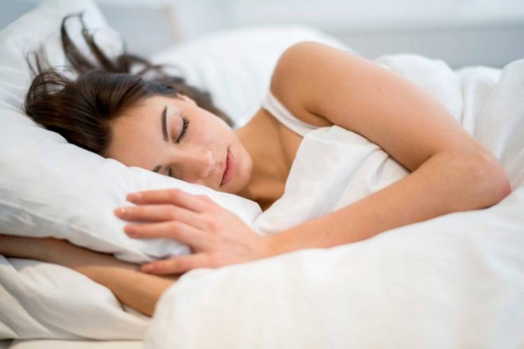 women sleep