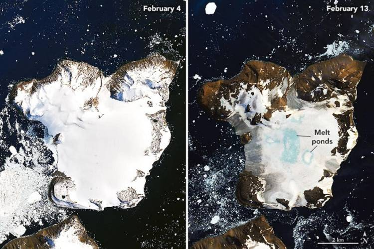 Antarctic without ice