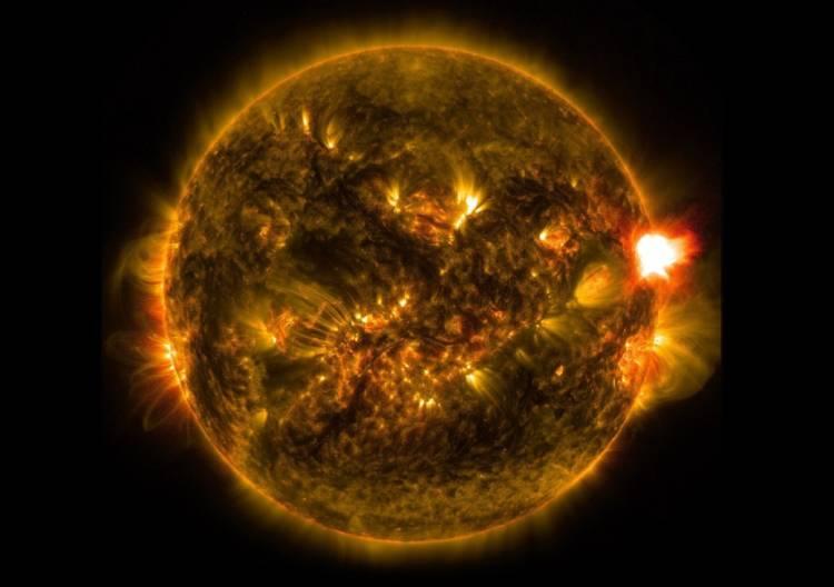 Sun in details