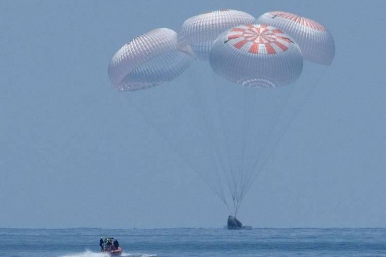 Crew Dragon landing