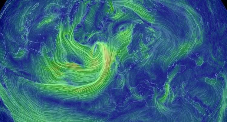 Новый «Атлас ветров» способствует развитию устойчивой энергетики на земле